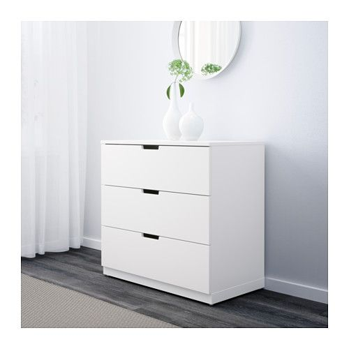NORDLI 3-drawer chest  - IKEA
