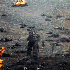 Wun-Wun, Jon & Tormund, Game of Thrones, Battle of the Bastards, Season 6