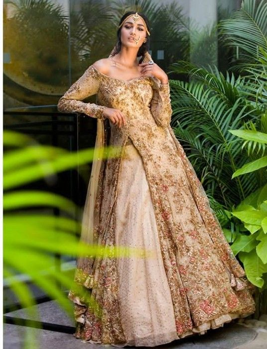 db032f297a8b Long Jacket Top with skirt(Lehenga). Embellished with hand embroidery.