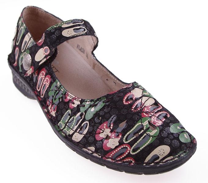 velvet comfort shoe
