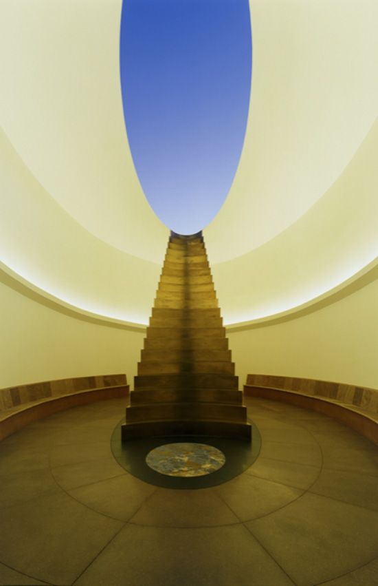 roden crater, east portal, skyspace  james turrell