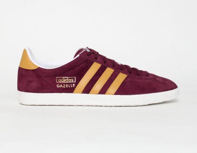 adidas burgundy gazelle