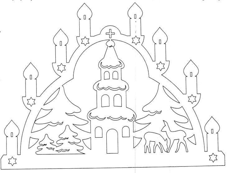 Christmas paper cut