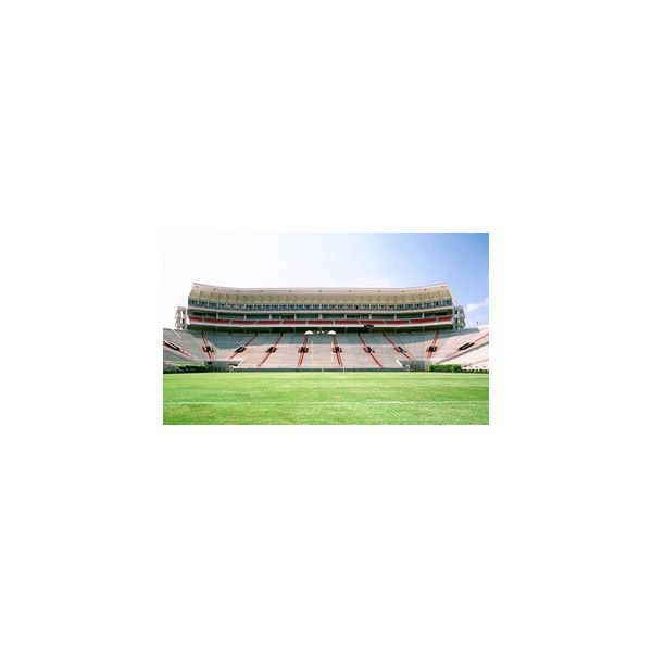 Calabasas High School football field. ❤ liked on Polyvore featuring school and places