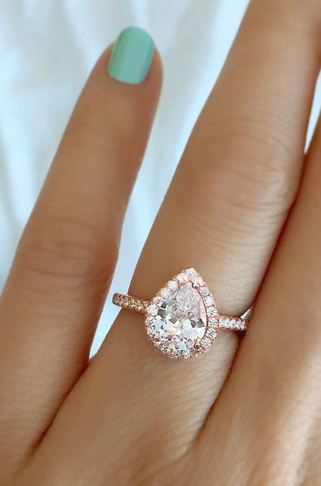 18 Stunning Pear Shaped Engagement Rings Pear Shaped Engagement