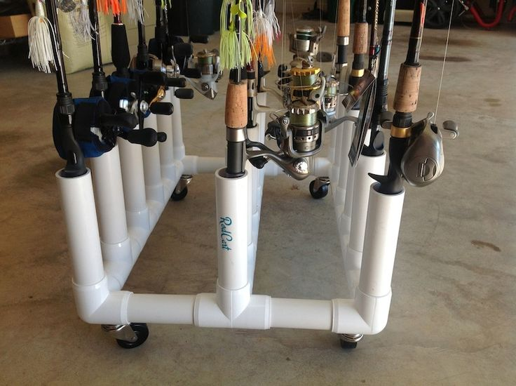 RodCart Rod & Reel Storage Cart