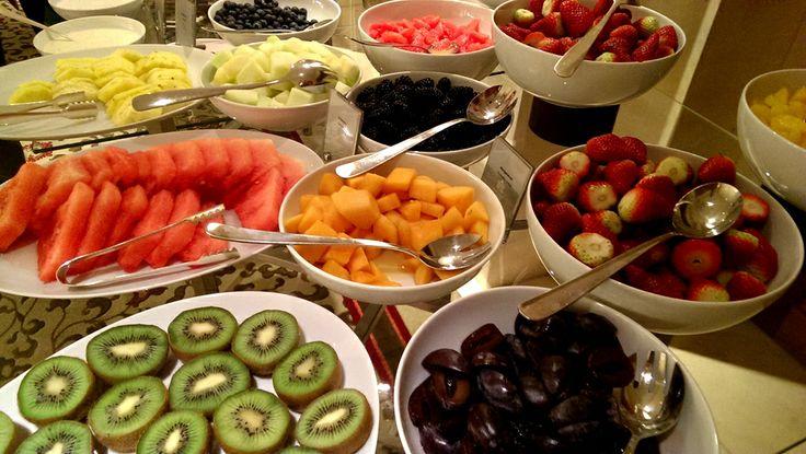 Breakfast in hotel Adlon Kempinski Berlin