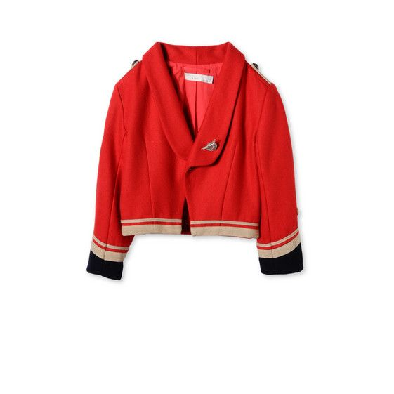 Shop the Circus Red Lee Jacket by Stella Mccartney Kids at the official online store. Discover all product information.