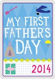 Happy Father's Day. Milestone Cards Free Printable. Baby Milestone Photography