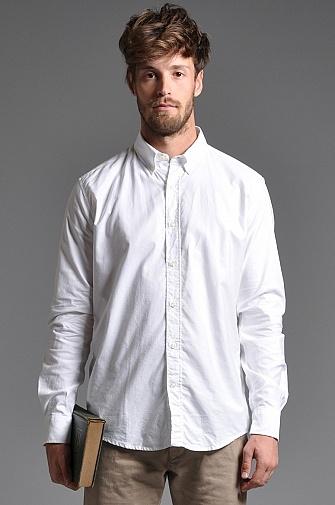 Our Legacy Placket Button Down Shirt White