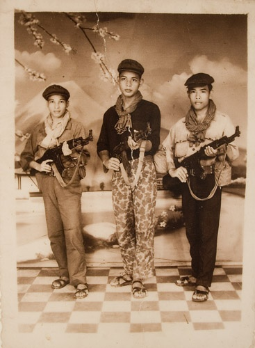 Khmer Rouge - teenage recruits: