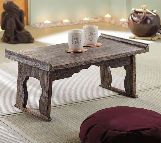 Wonderful Loving This Table...it Would Make A Great Addition To My Yoag Room ; ) |  Zen | Pinterest | Wood Table, Woods And Meditation Rooms