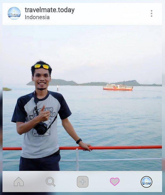 Hand in hand we move forward  Terima kasih yaa @imrhanknobm  . . . . #indonesia #travelmate #friends #love #wonderful #discover #landscape #outing #escape #nature #explore #adventure #friendship #happy #enjoy #traveller #beach #ocean #love #work #sky #vacation Travelmate Today IndonesiaTravelmate Today Indonesia