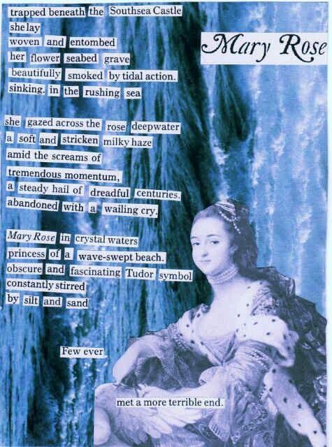 Mary Rose - a cut-up poem by Keinwyn Shuttleworth