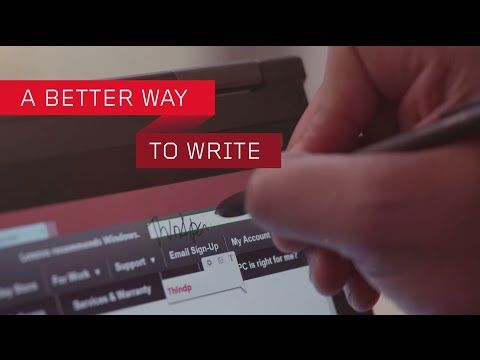 Introducing WRITEit by Lenovo - YouTube