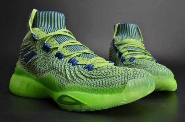 the latest 5977c e57ae adidas Crazy Explosive 2017 Primeknit Green Andrew Wiggins For Sale