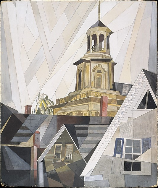 After Sir Christopher Wren by Charles Demuth. My 13,100th pin.
