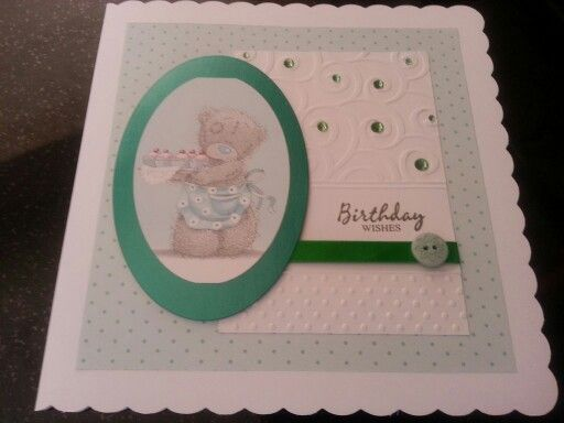 Embossing card withmy Big Shot - Tatty Ted