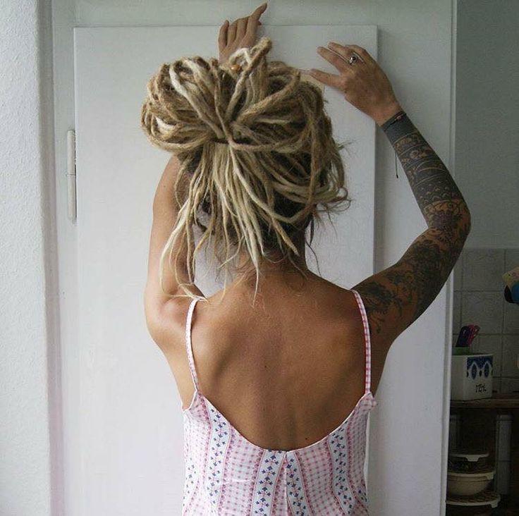hair. dreads