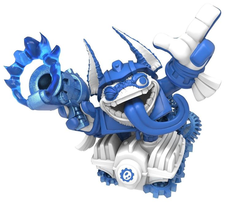 Skylanders Superchargers: Drivers Power Blue - Trigger Happy Character Pack