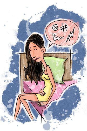 Aumento de sintomatología de la FM en la menstruación.