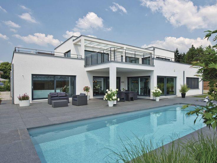 17 besten luxushaus bilder auf pinterest moderne h user for Modernes luxushaus