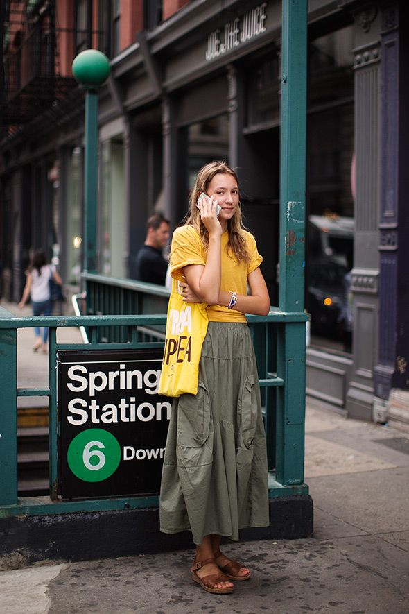 On the Street…Spring St., New York