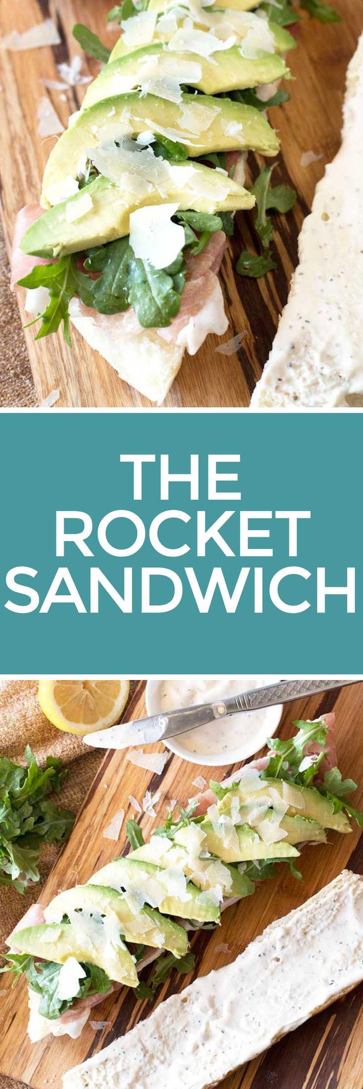 Rocket Sandwich – Cake 'n Knife