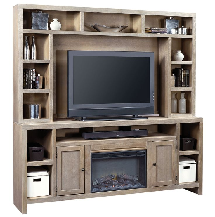 84  Fireplace Console w  Hutch   Aspen Home   Home Gallery Stores. 1000  images about TREND  Built in Fireplaces on Pinterest