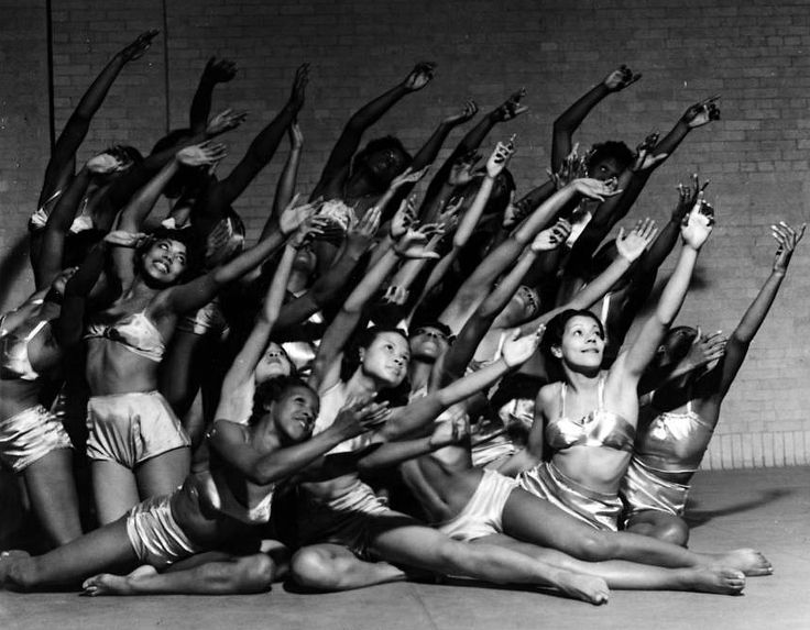 Dancers from the First American Negro Ballet, founded in 1937.