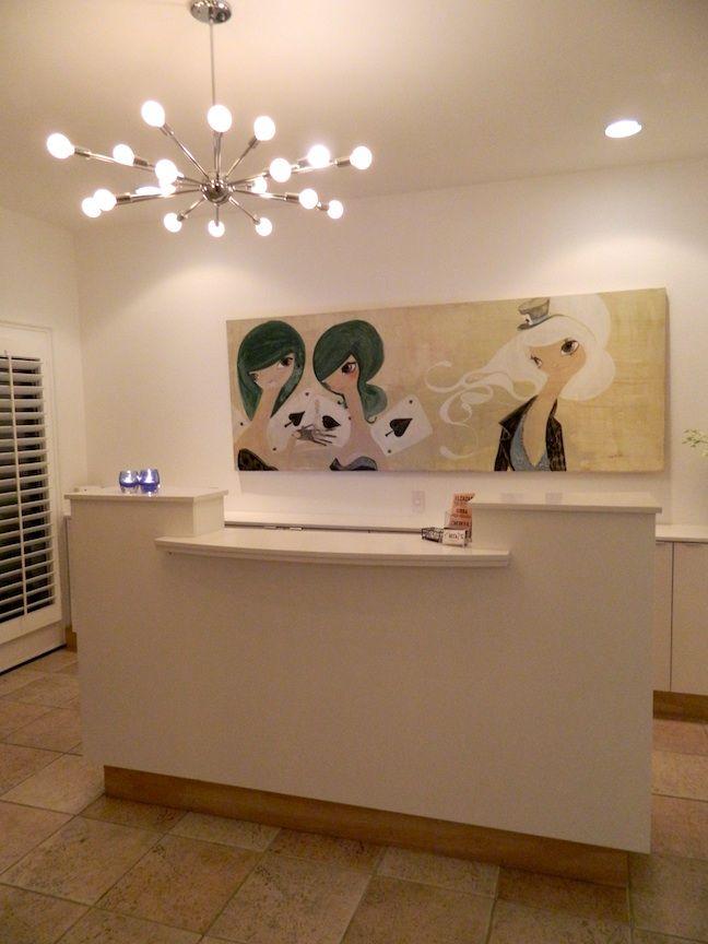 I like the chandelier 10 best salon
