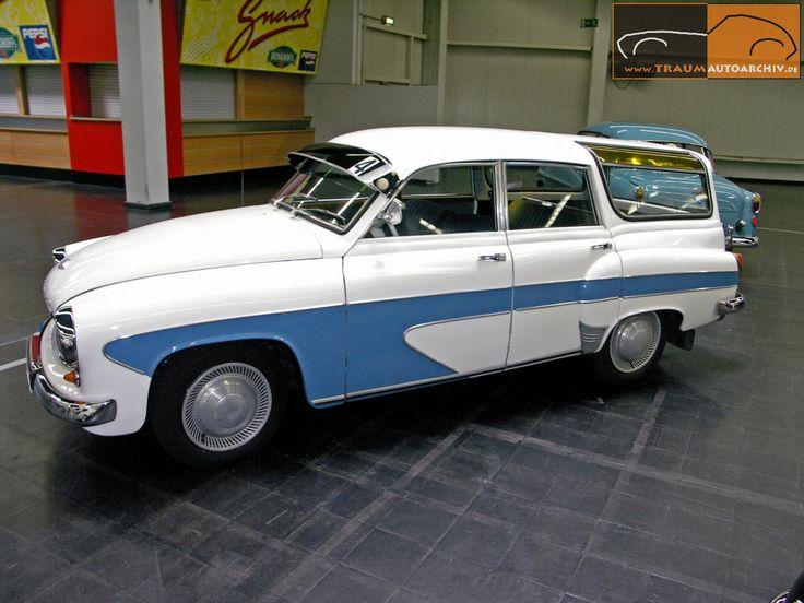 Wartburg 311-500 Camping Limousine '1960