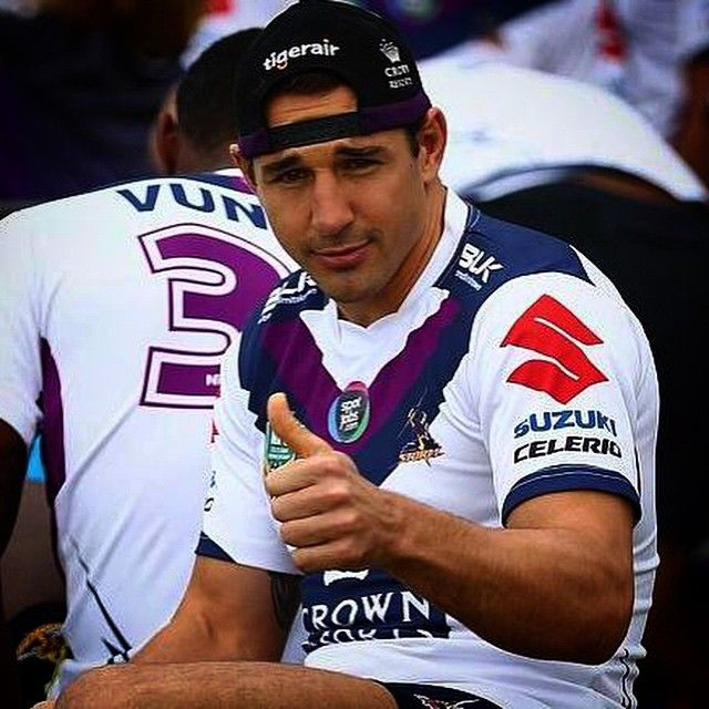 Billy Slater. Melbourne Storm @melbstormrlc Instagram photos | Websta