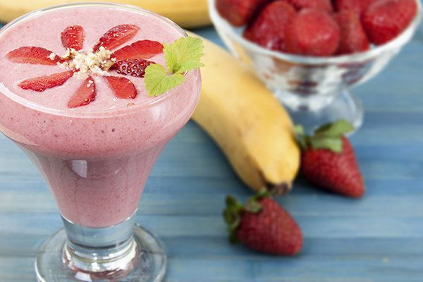 Strawberry Banana Protein Smoothie   Calories: 250 | Previous Points: 5 | Points Plus: 7