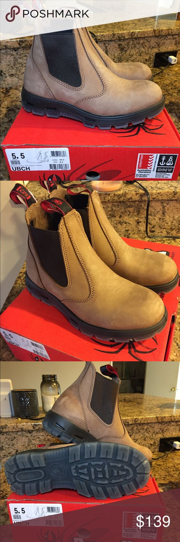 Redback Boots UBCH Never worn, brand new. Size 5.5 UK (8 women/6.5 men) they are very comfortable and will last for a couple years! Redback boots Shoes Ankle Boots & Booties