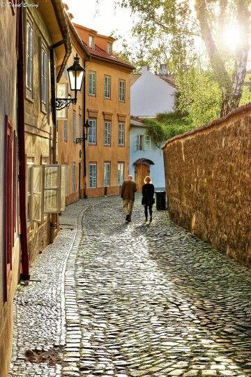 Nový Svět (Le Monde Nouveau), Prague, Tchéquie #Prague #Tchequie #Czechia