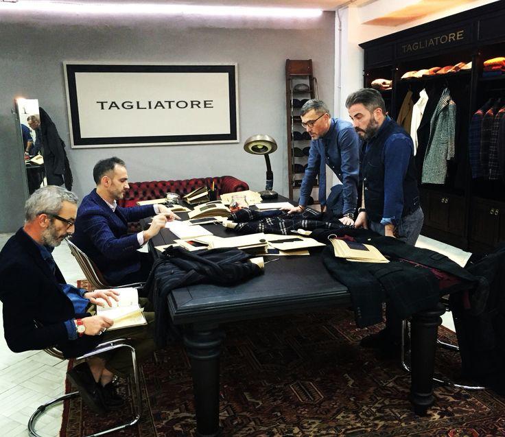 Gentlemen at work- Tagliatore