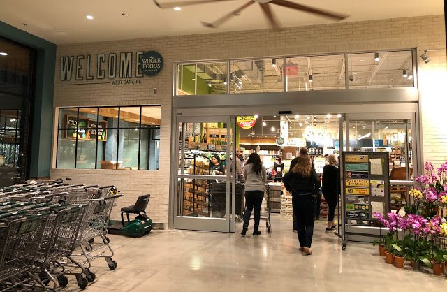Whole Foods Grand Opening - West Cary, NC #wholefoods #cary