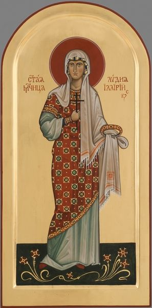 St. Lydia the Martyr of Illiria - March 27