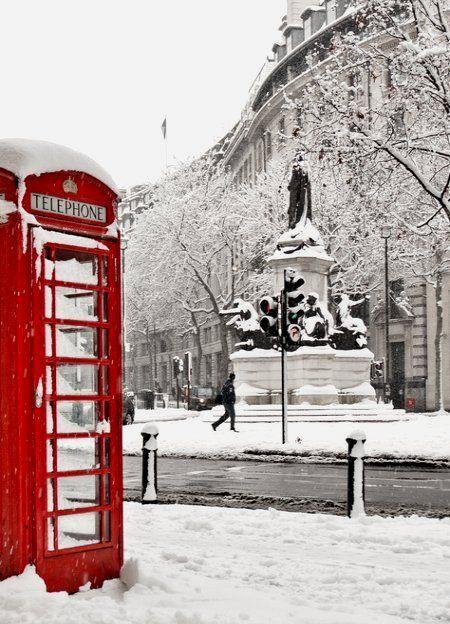 London Snow | England Winter