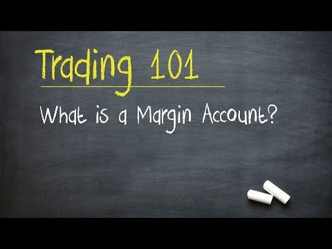 Types of trading options and margin account