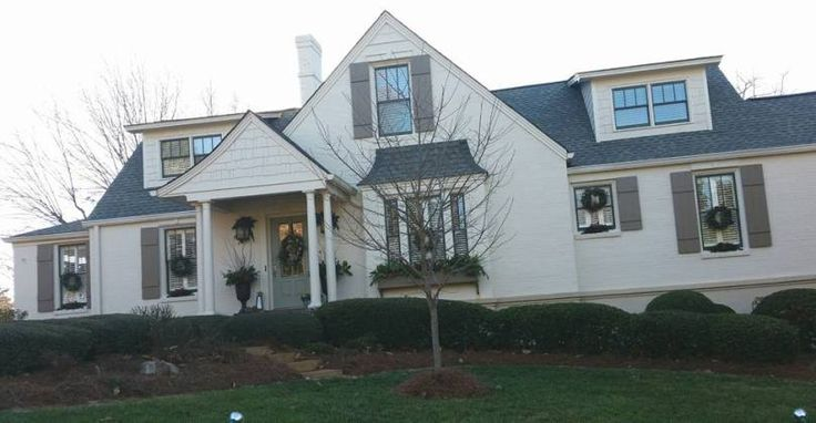 1000 Ideas About Brick Ranch On Pinterest Painted Brick