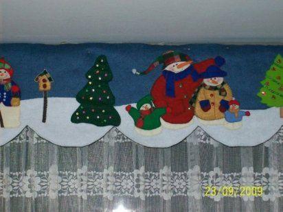 moldes cenefa navideña patchwork - Buscar con Google