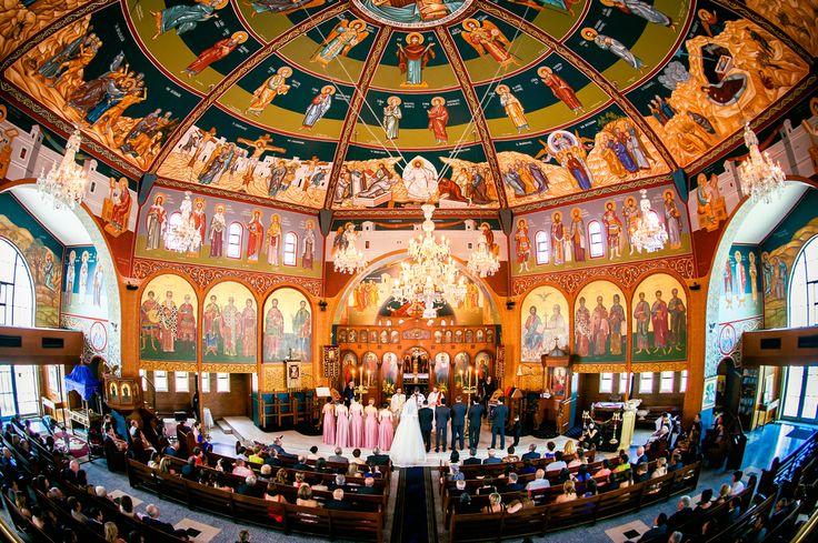 Wedding Ceremony in the Greek Orthodox Church South Brisbane.