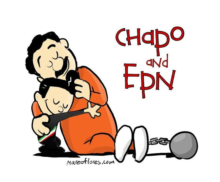 No me pude resitir.  #ElChapo #Chapo #epn #mexico #narco #calvinnhobbes #billwatterson by mareoflores