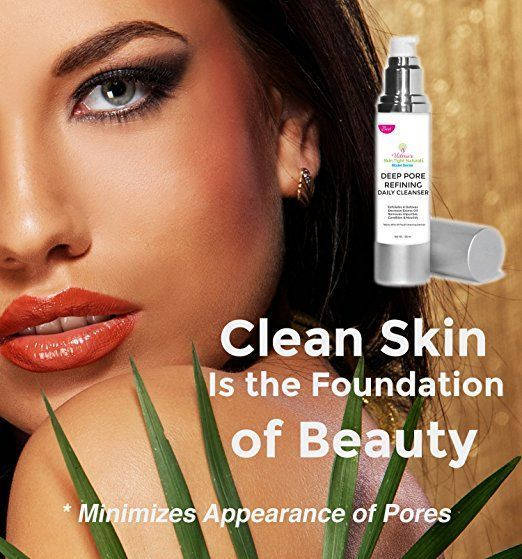 Victoria's Best Deep Cleaning Pore Refining Face Cleanse Anti Aging Skin Care Model Series