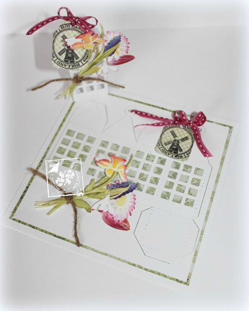 Cards of Joy: Spring flower lantaarn...