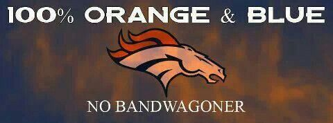 I may be a new broncos fan, but I'm also new to football. I'll be a real fan and stick with them even if they go 2-14.