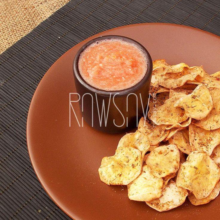 Чипсы картофельные классические - Сыроедение, рецепты и диеты - Rawsay