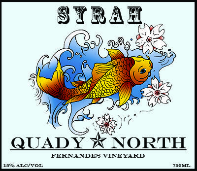 The home page for Quady North Southern Oregon wine. Quady North specializes in Syrah, Viognier, and Cabernet Franc from sites in the Rogue and Applegate Valleys.